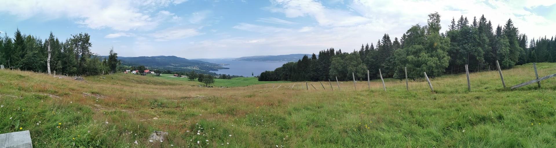 Utsikt fra Ilbakken